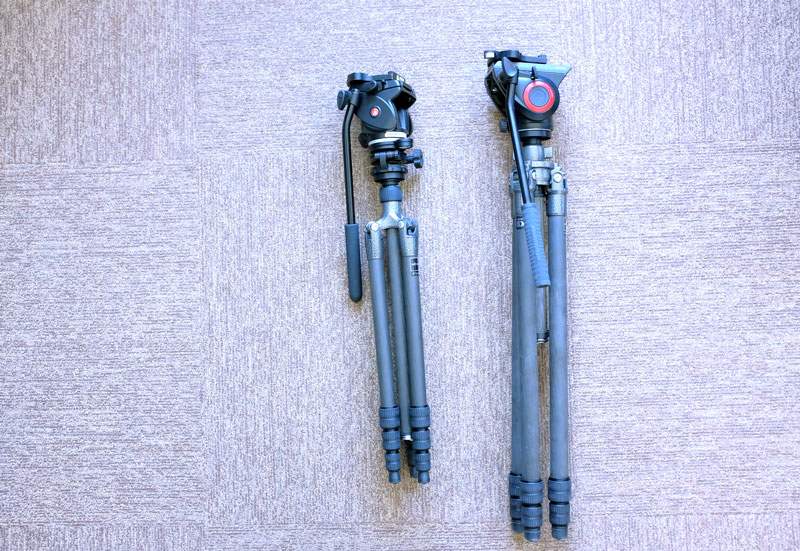 The only tripods I've ever loved - Gitzo GT1542T and Gitzo GT2531LVL